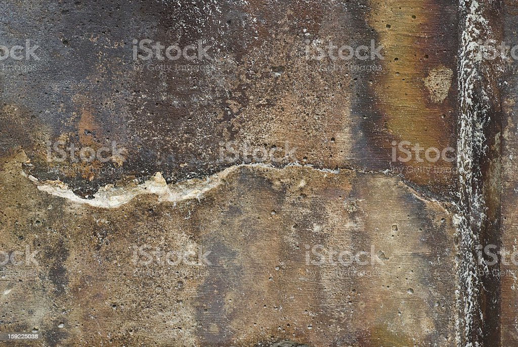 Stone Wall Rust colored texture royalty-free stock photo