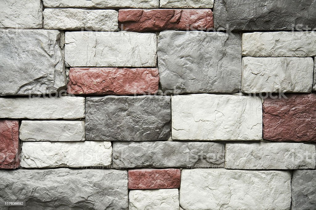 Stone wall surface royalty-free stock photo
