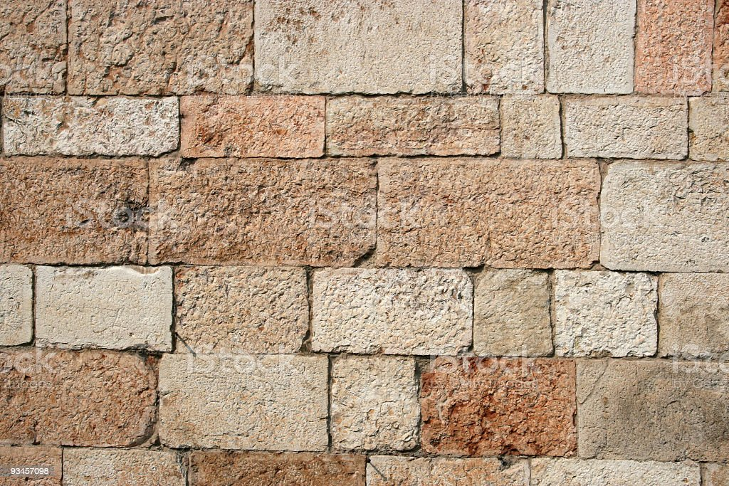 Stone Wall Texture Background Pattern royalty-free stock photo