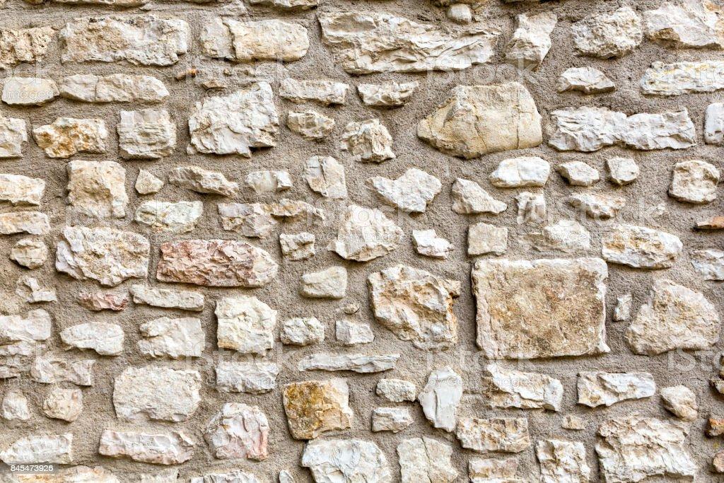 Stone wall texture background stock photo