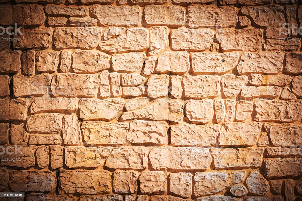 Stone wall texture patterns for background. stock photo