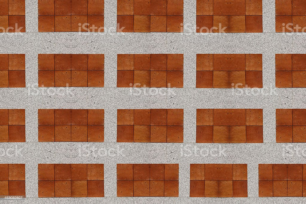 Stone wall two colors. royalty-free stock photo