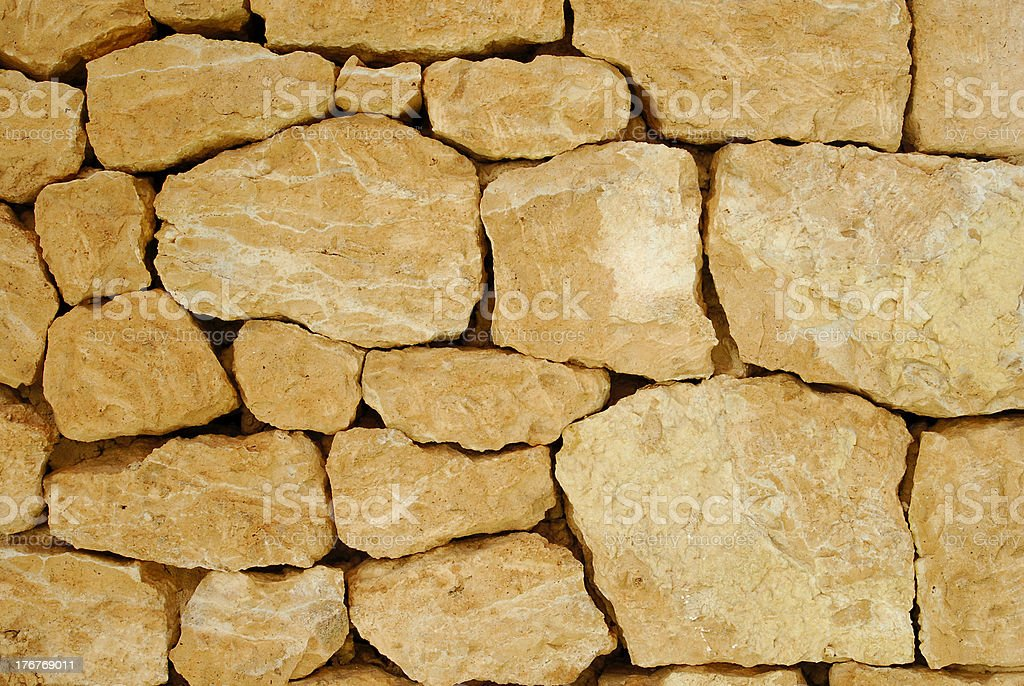 stone wall vintage royalty-free stock photo