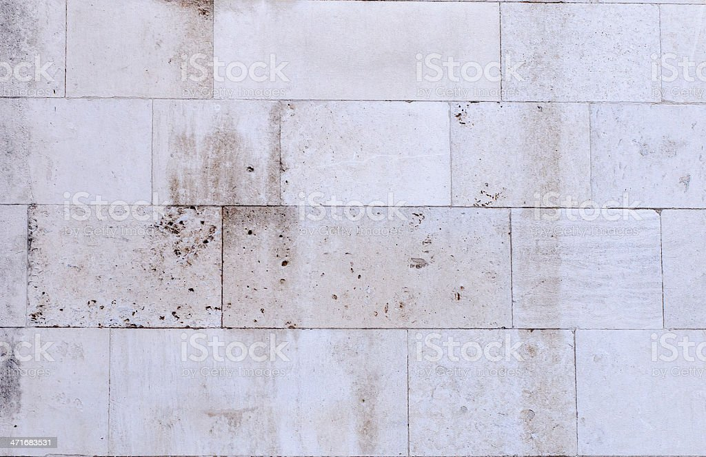 Stone wall with old look royalty-free stock photo