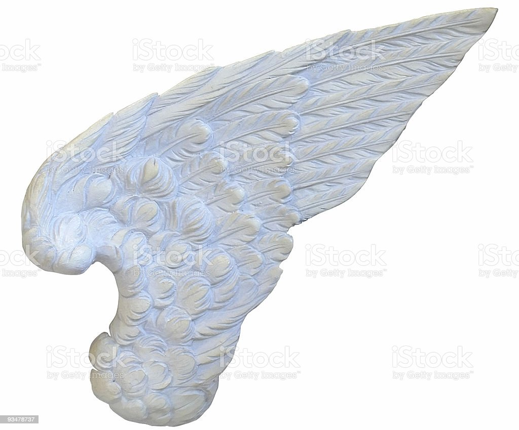Stone Wing royalty-free stock photo