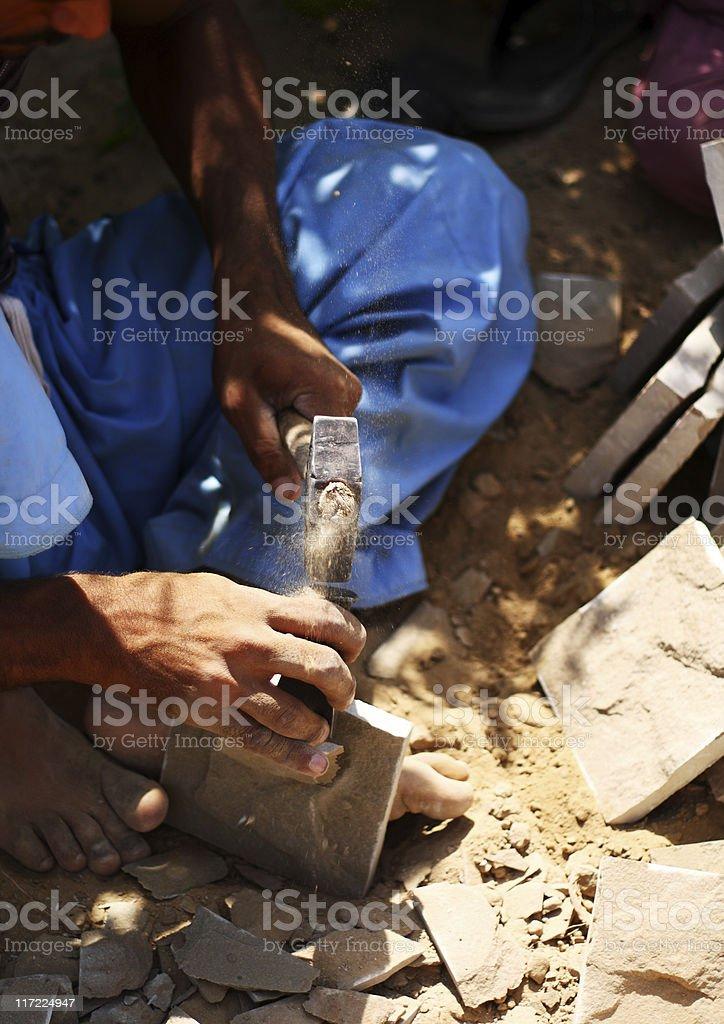 Stone works royalty-free stock photo