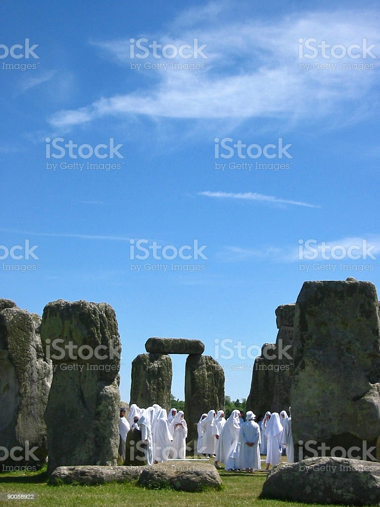 stonehenge 02 royalty-free stock photo