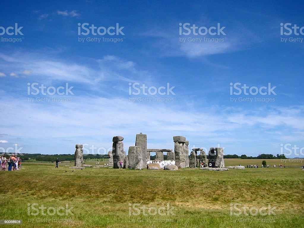 stonehenge 07 royalty-free stock photo