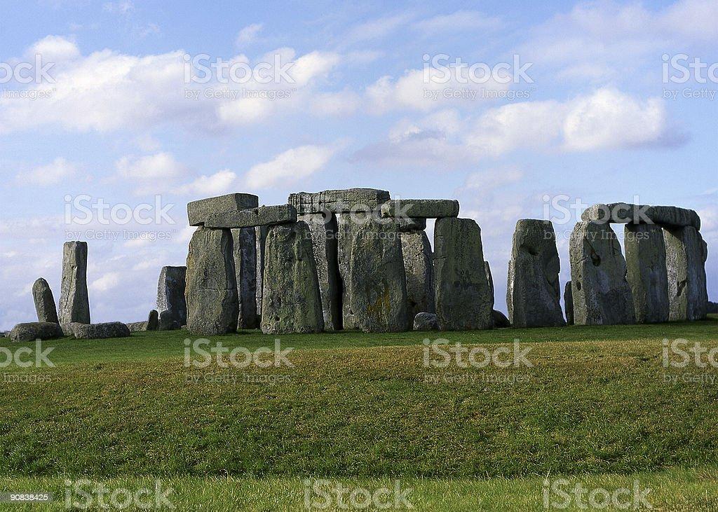 Stonehenge Ancient Monument. Wiltshire. England royalty-free stock photo