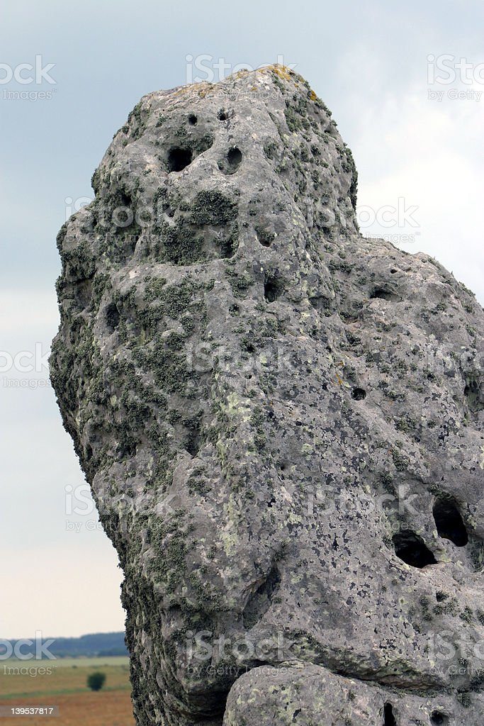 Stonehenge - detail royalty-free stock photo
