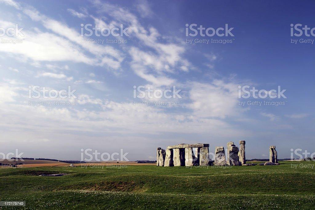 Stonehenge, England royalty-free stock photo