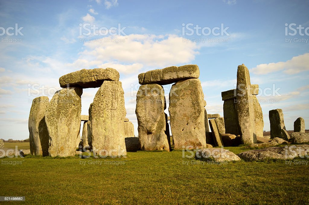 Stonehenge - England UK stock photo
