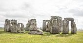 Stonehenge in afternnon light.