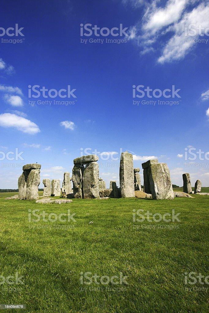 Stonehenge in Summer stock photo