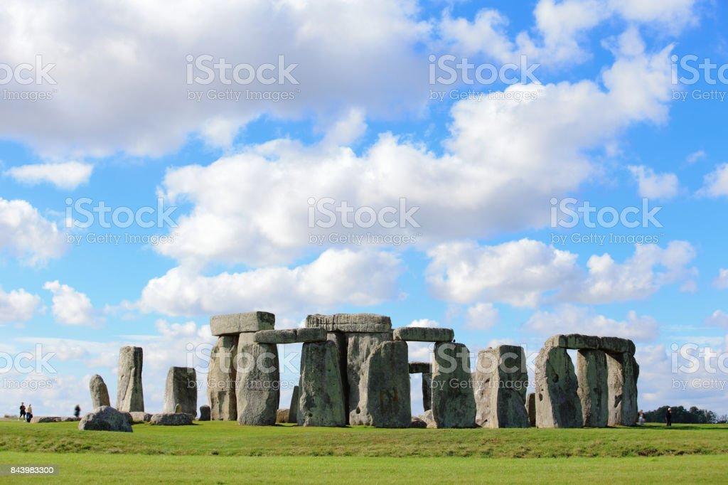 Stonehenge in the prairie stock photo