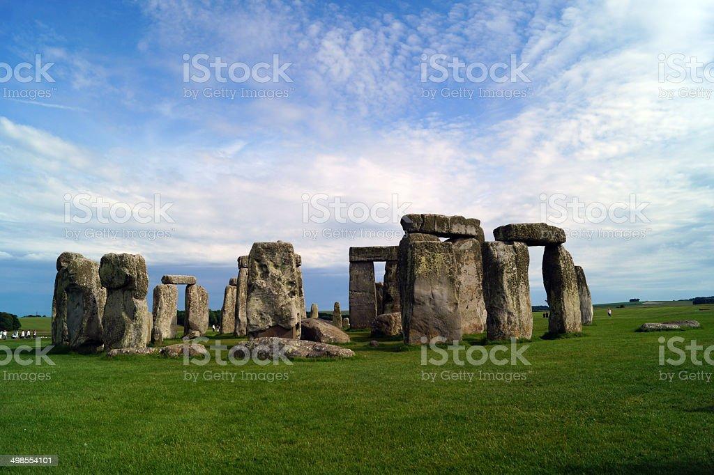 Stonehenge in Wiltshire, England royalty-free stock photo