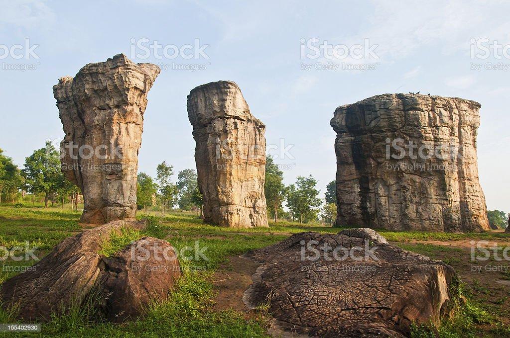 Stonehenge of Thailand royalty-free stock photo