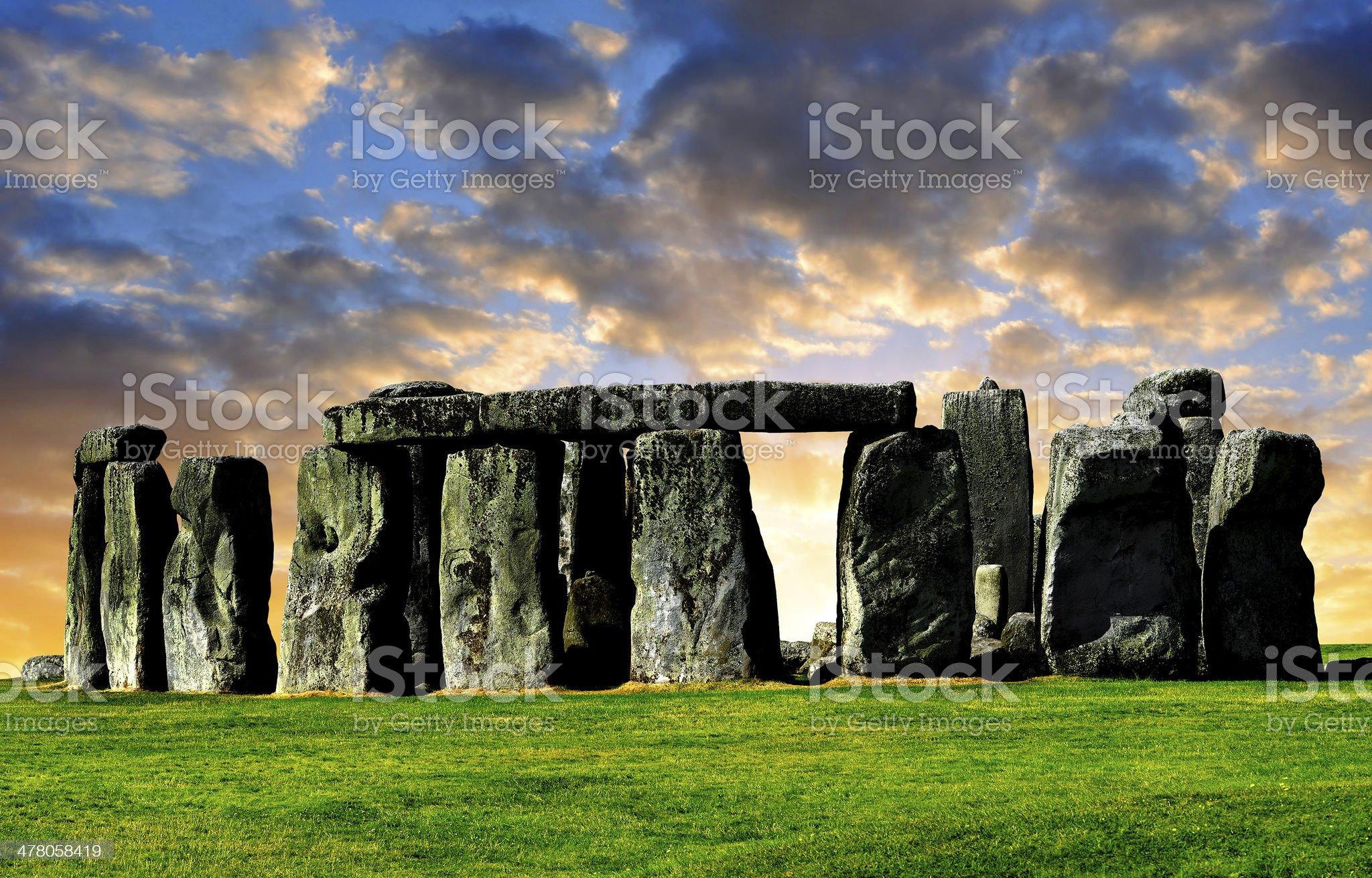 Stonehenge royalty-free stock photo