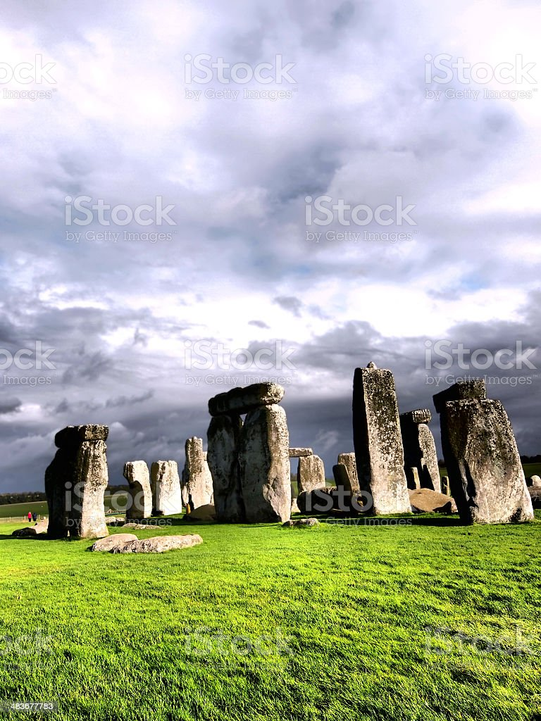 HDR Stonehenge stock photo