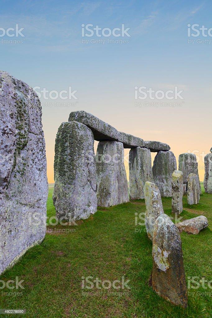 Stonehenge. stock photo