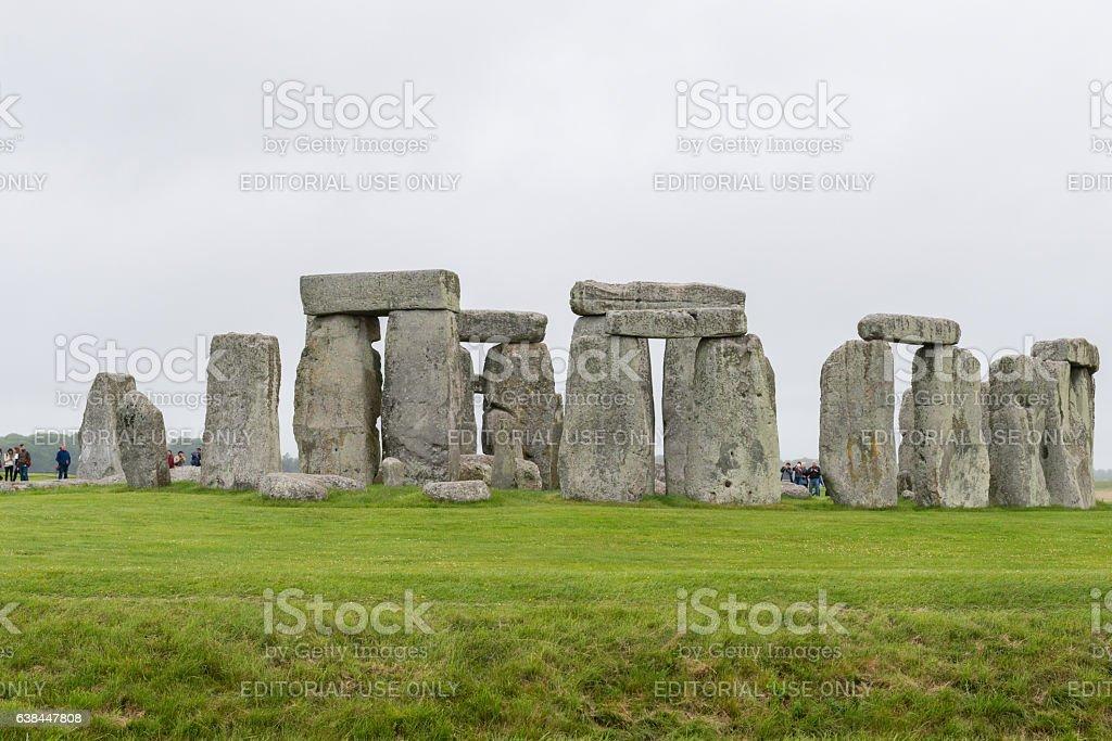 Stonehenge stock photo