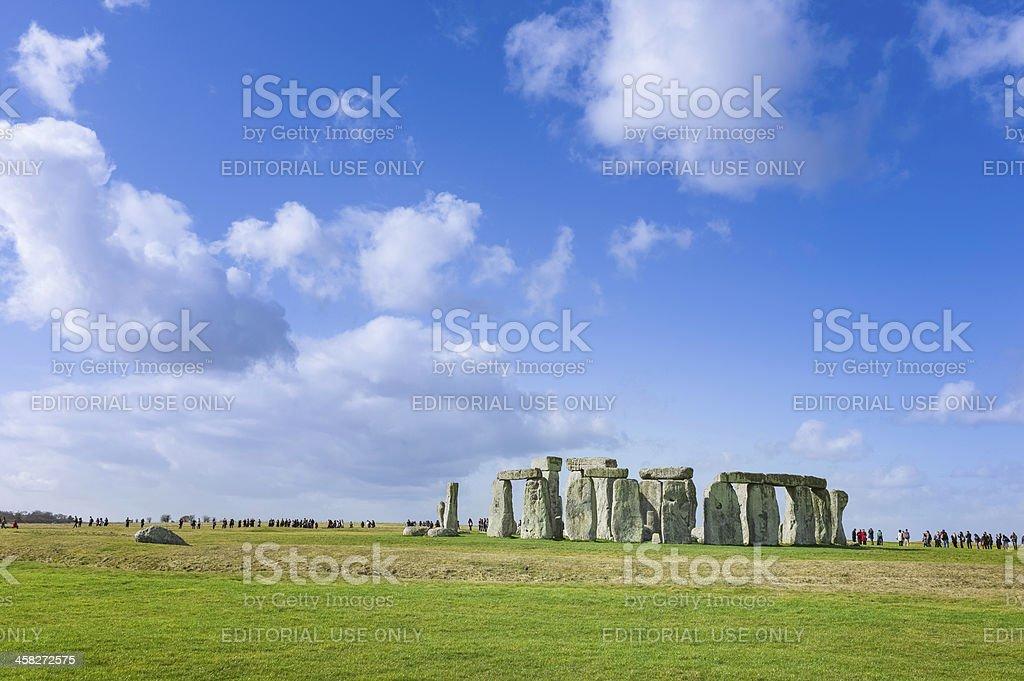 Stonehenge, prehistoric monument, Wiltshire, UK. royalty-free stock photo