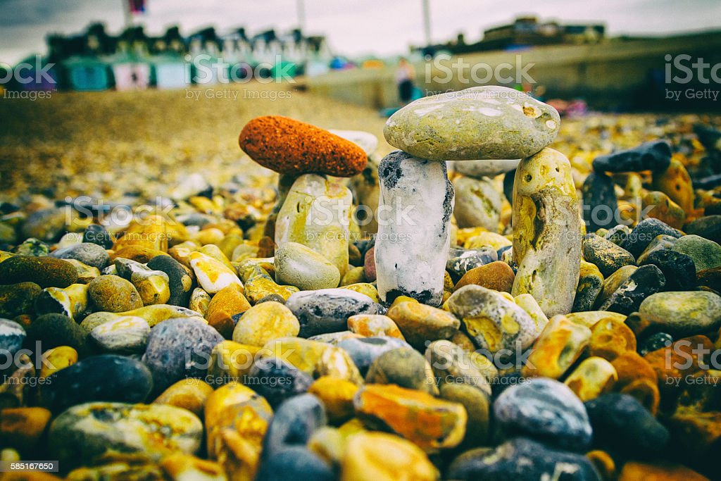 Stonehenge re-creation stock photo