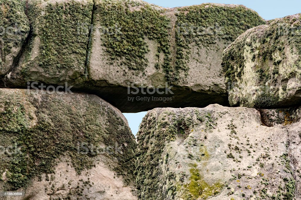 Stonehenge, Salisbury Plain, Wiltshire, England stock photo