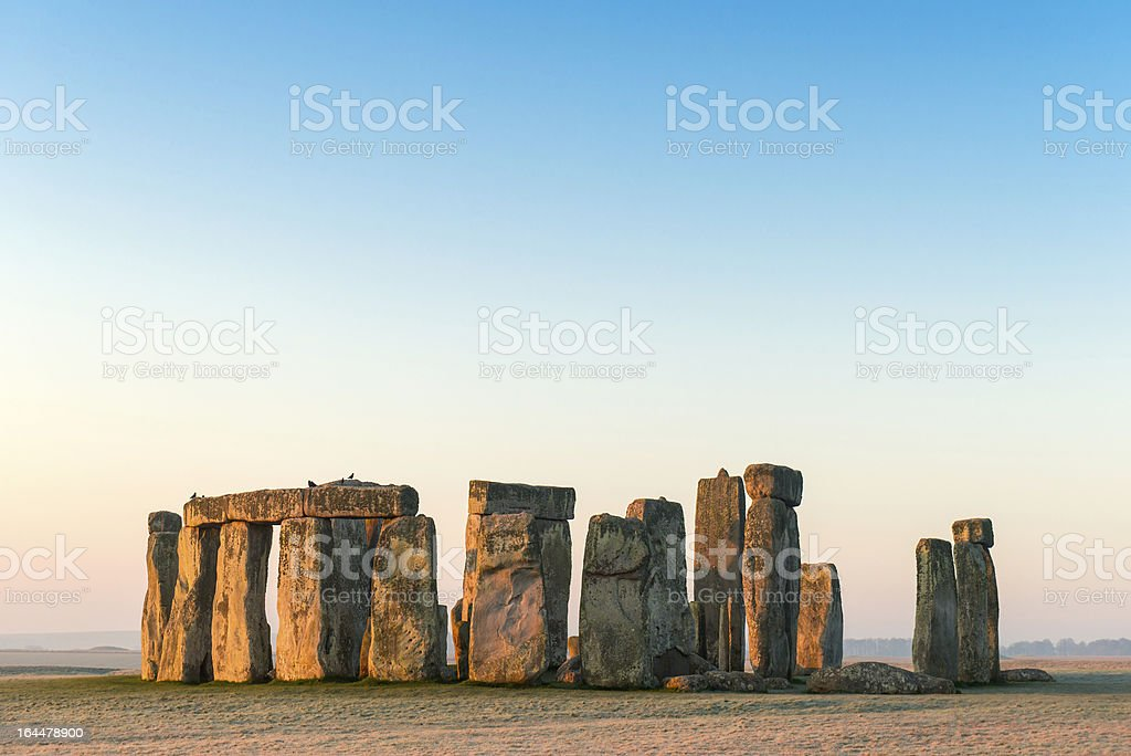 Stonehenge, Salisbury Plain, Wiltshire stock photo