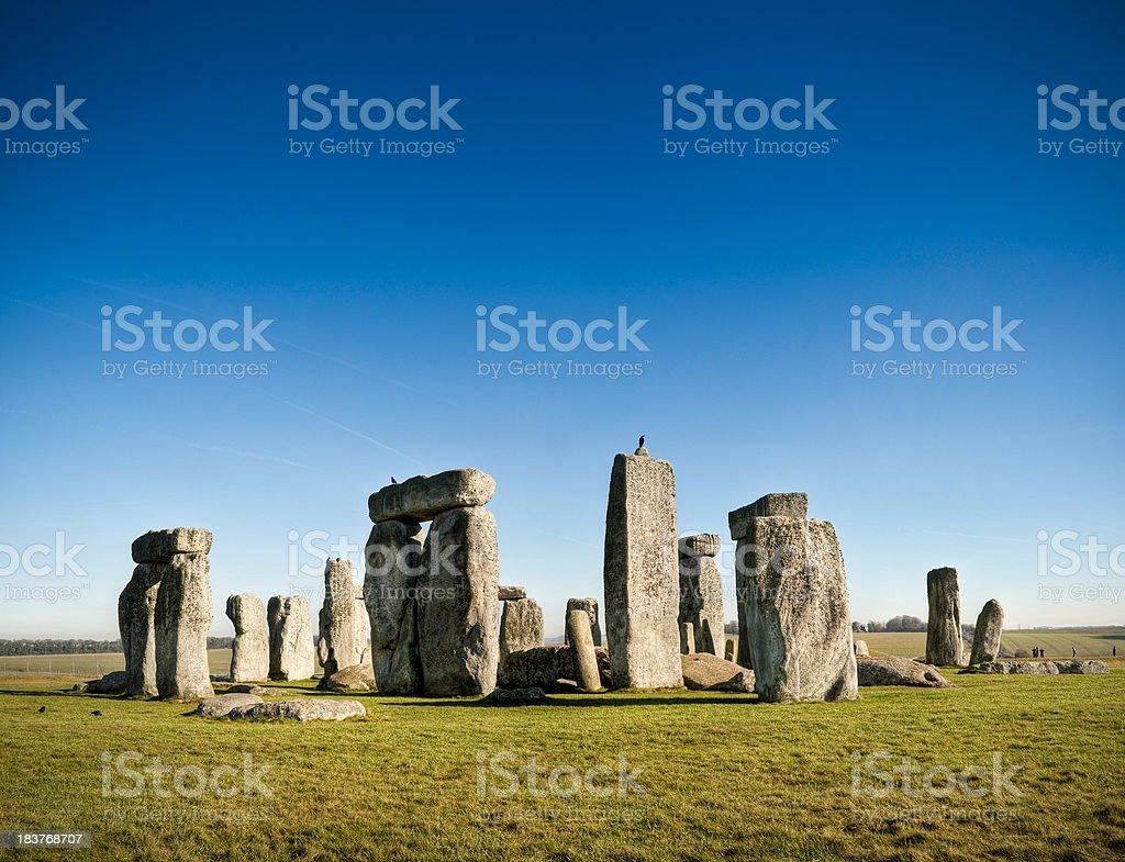'Stonehenge, Salisbury Plain, Wiltshire, UK' stock photo