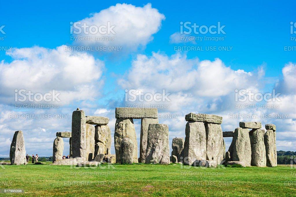 Stonehenge, Salisbury Plain, Wiltshire, UK royalty-free stock photo