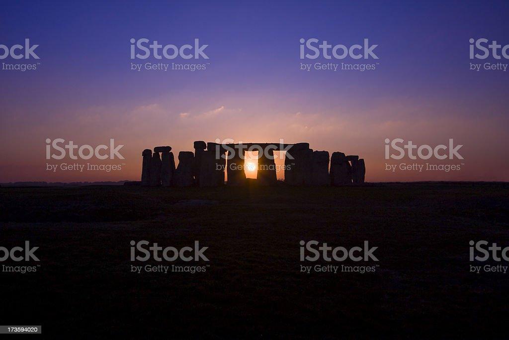 Stonehenge Solstice stock photo
