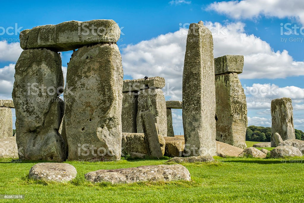 Stonehenge United Kingdom stock photo
