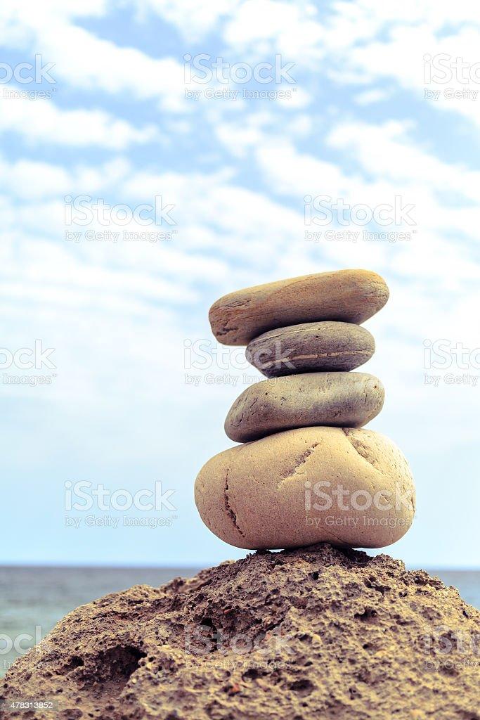 Stones balance inspiration wellness concept stock photo