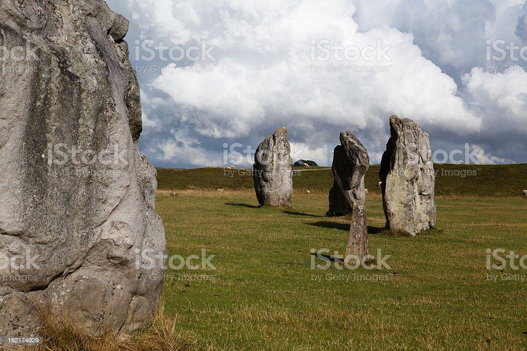 Stones Circle stock photo