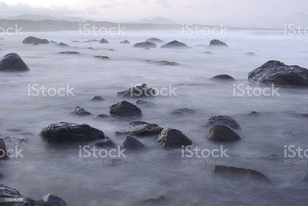 Stones coast royalty-free stock photo