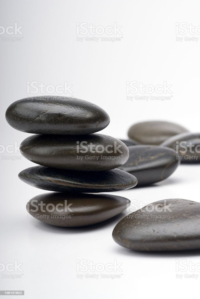 Stones group royalty-free stock photo