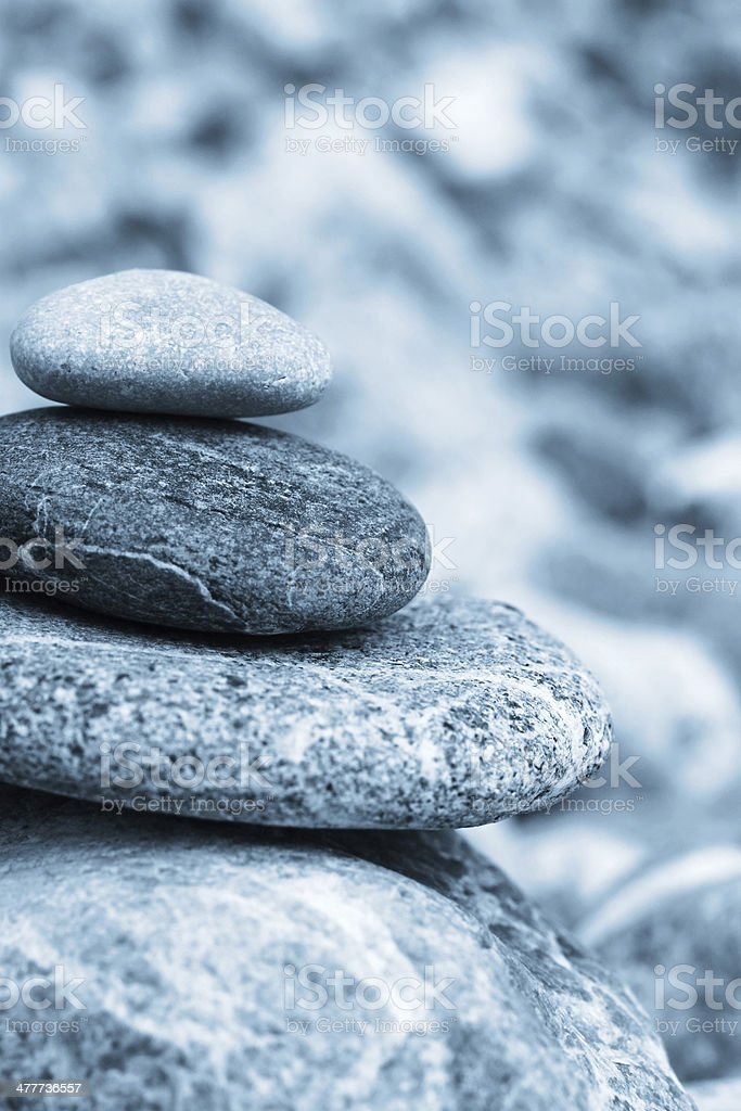 Stones in balance royalty-free stock photo