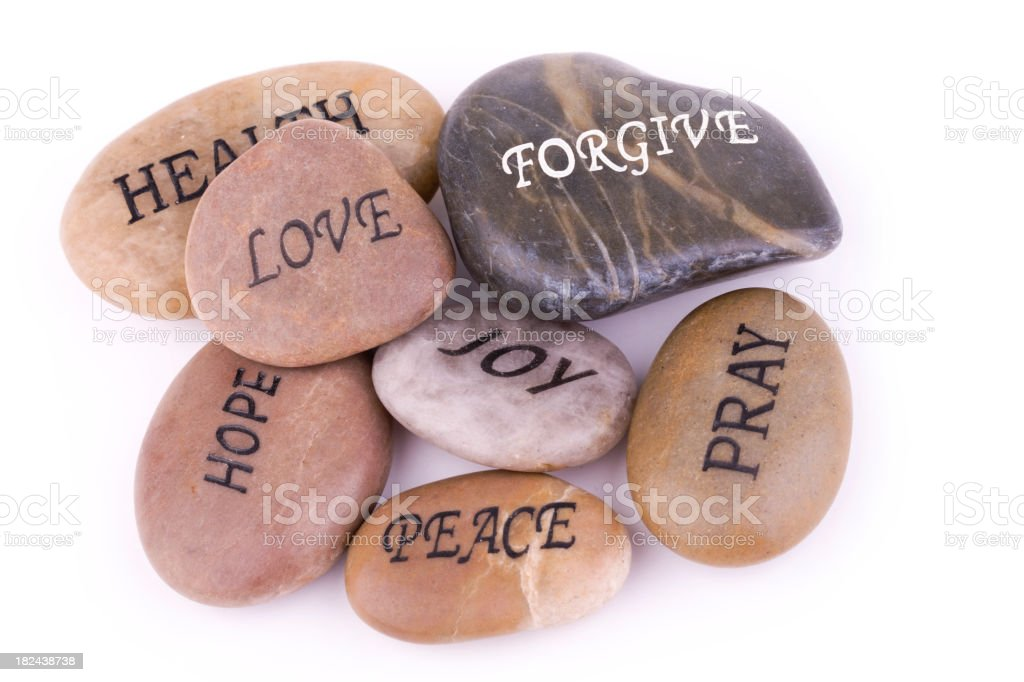 Stones of Faith royalty-free stock photo