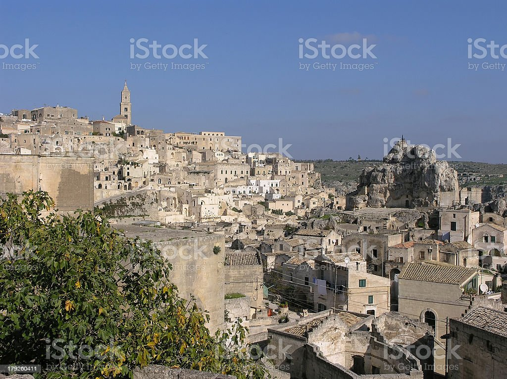 sassi di matera royalty-free stock photo