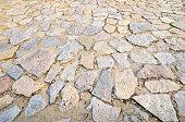 Stones pavement