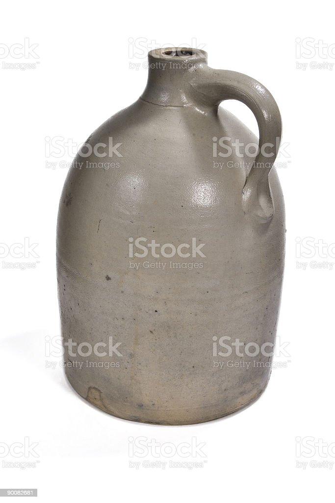 Stoneware Jug royalty-free stock photo