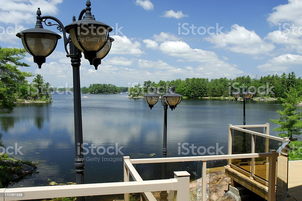 Stoney Lake view royalty-free stock photo