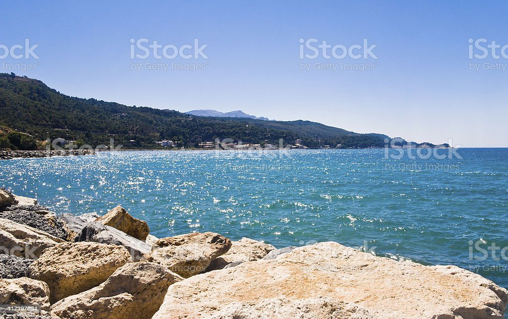 Stony Beach royalty-free stock photo