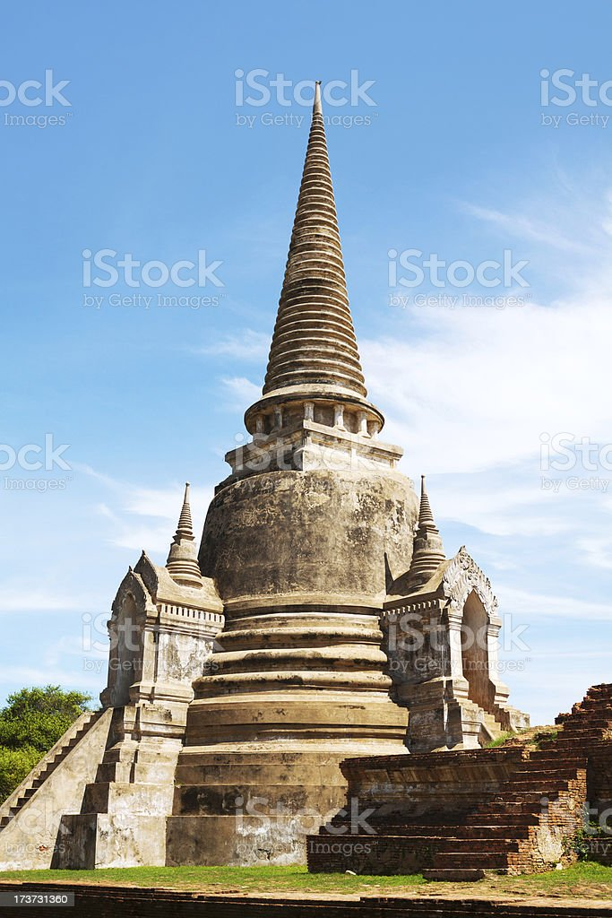 Stony pagoda royalty-free stock photo