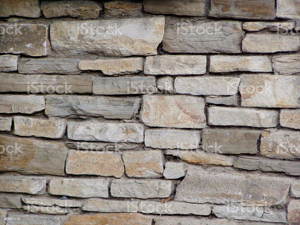Stony wall royalty-free stock photo