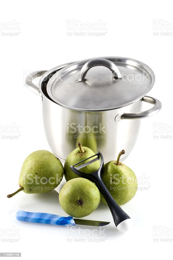 Stoofperen. stock photo