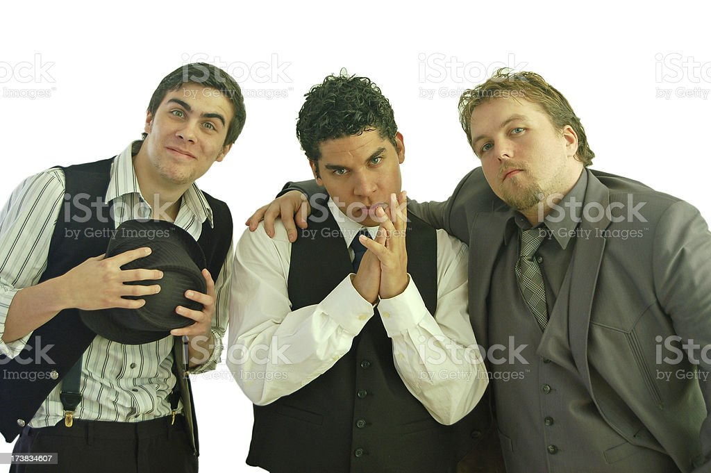 Stooges royalty-free stock photo