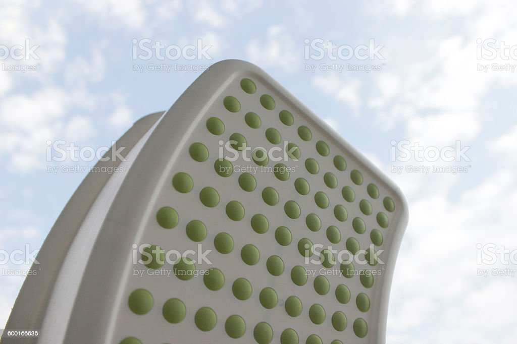 Stool step for children use stock photo
