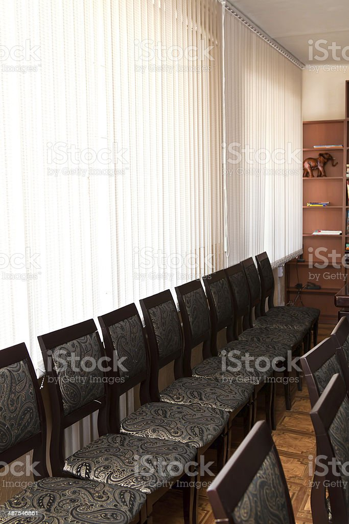 Stools and Chairs stock photo